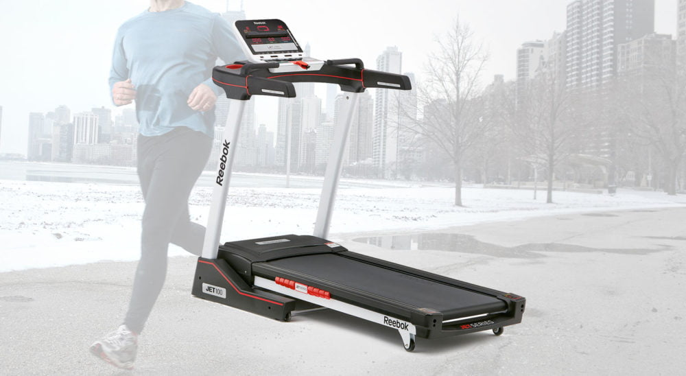 reebok jet 100 running machine main review