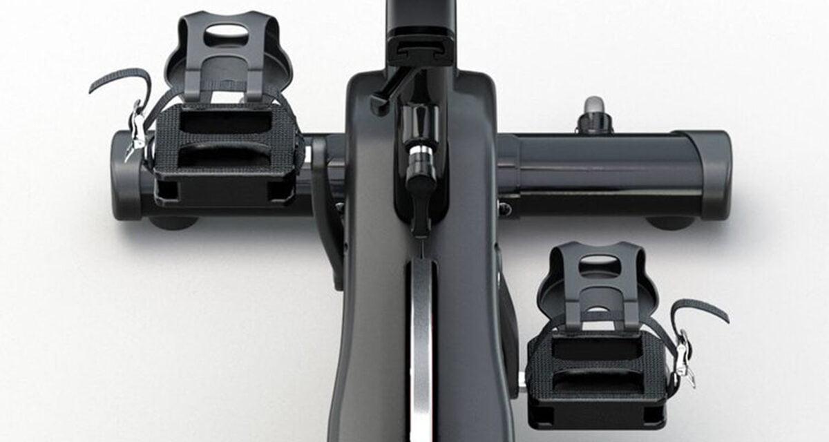 CAROL Bike pedals close up in black