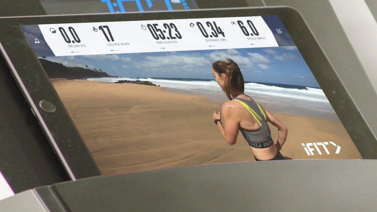 Colour Screen NordicTrack S 20i Treadmill