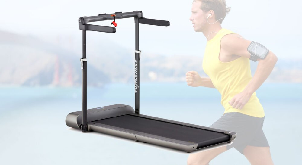 Dynamax Folding Treadmill review and the cheapest uk price voucher code