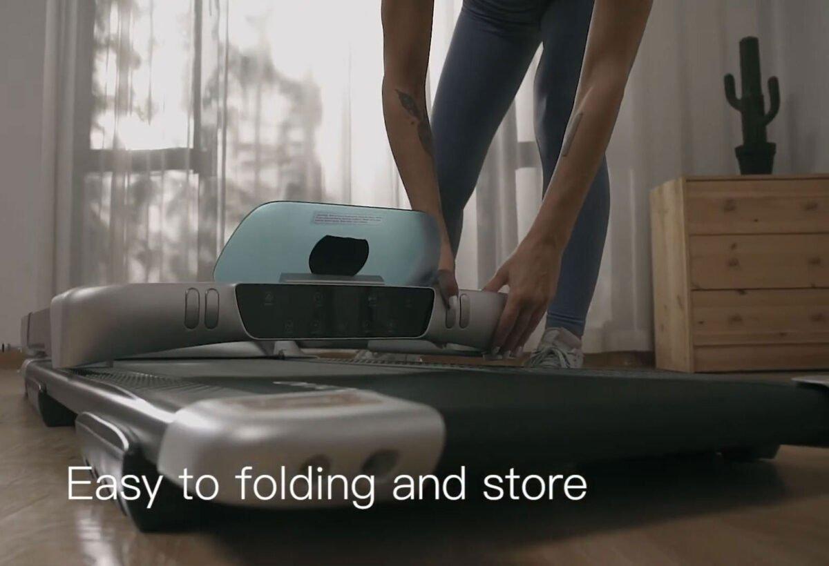Fold Flat OVICX Q2S Portable Treadmill Best Price