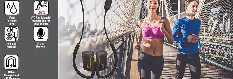 HA EC30BT JVC wireless headphones review and best price