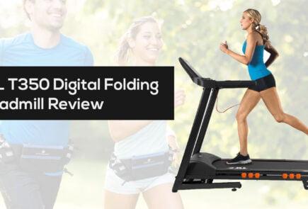 JLL T350 Digital Folding Treadmill Review voucher code