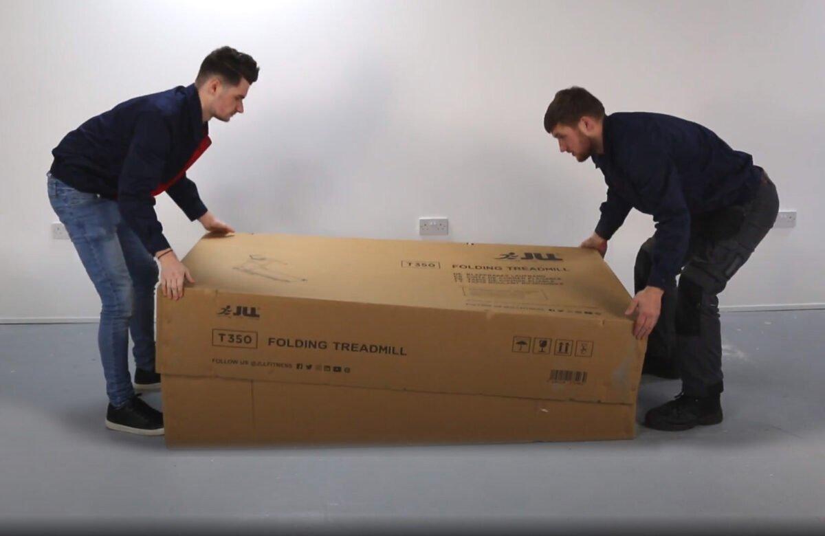 JLL T350 Folding Treadmill boxed ready to install