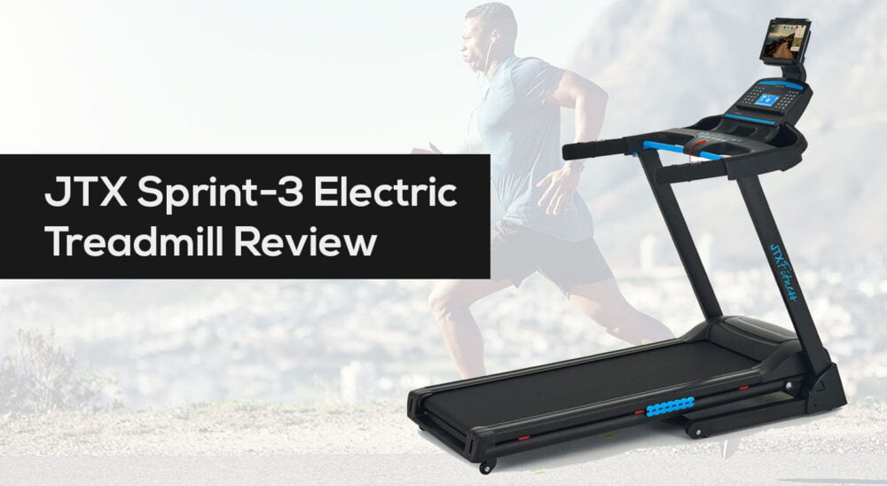 JTX Sprint 3 Electric Treadmill Review Best UK Price