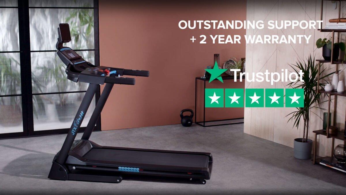 JTX Sprint 3 Treadmill Review 5 star reviews