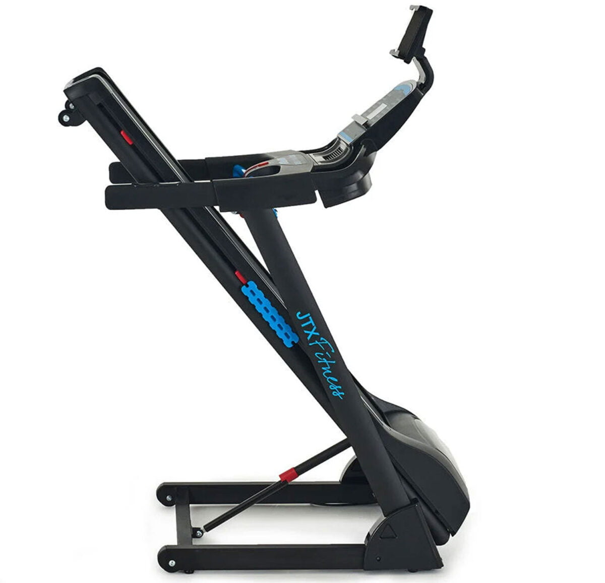 JTX Sprint 3 folded away for storage blue and black