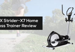 JTX Strider X7 Home Cross Trainer Review
