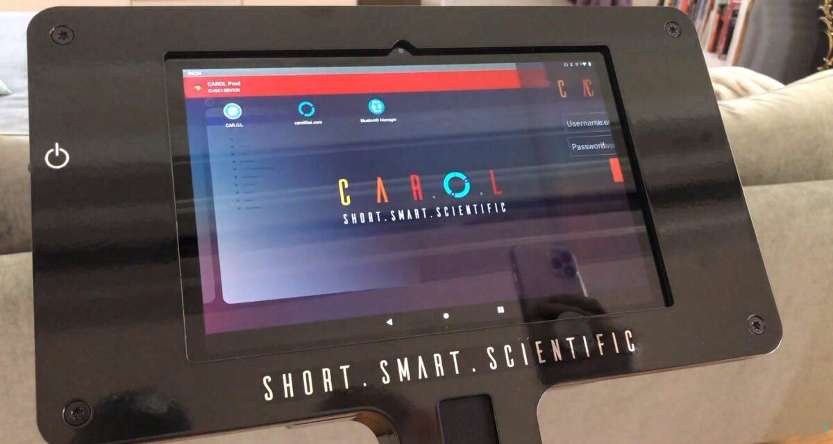 LCD Screen and touchpad for CAROL Bike