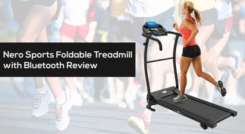 Nero Sports Foldable Electric Motorized Treadmill with Bluetooth Review Cheapest price