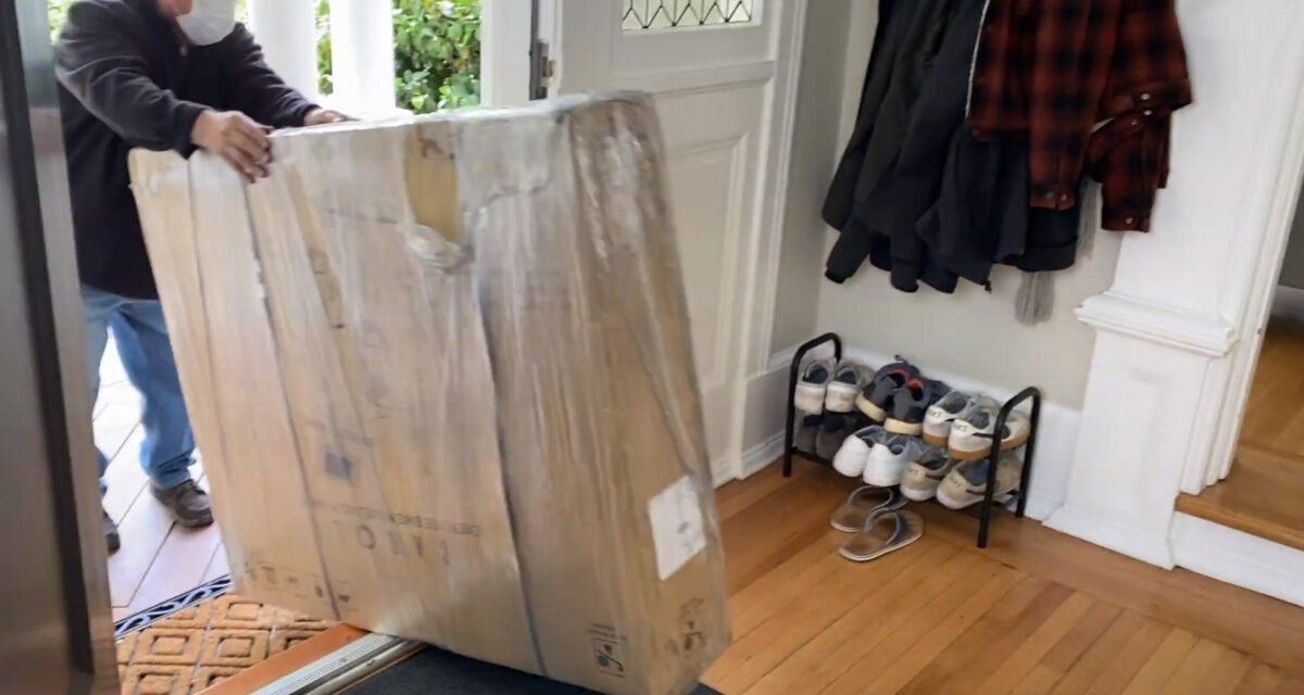 New delivery for CAROL Bike
