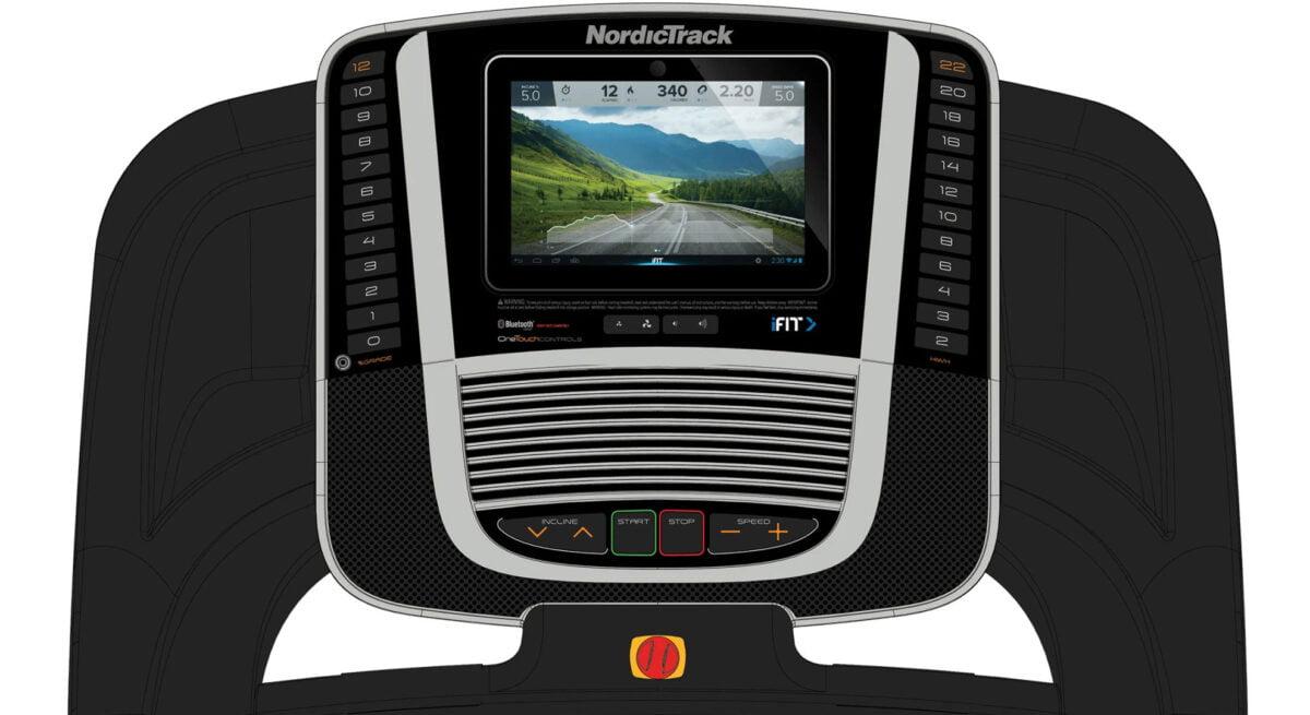 NordicTrack S 45i Treadmill LCD Screen
