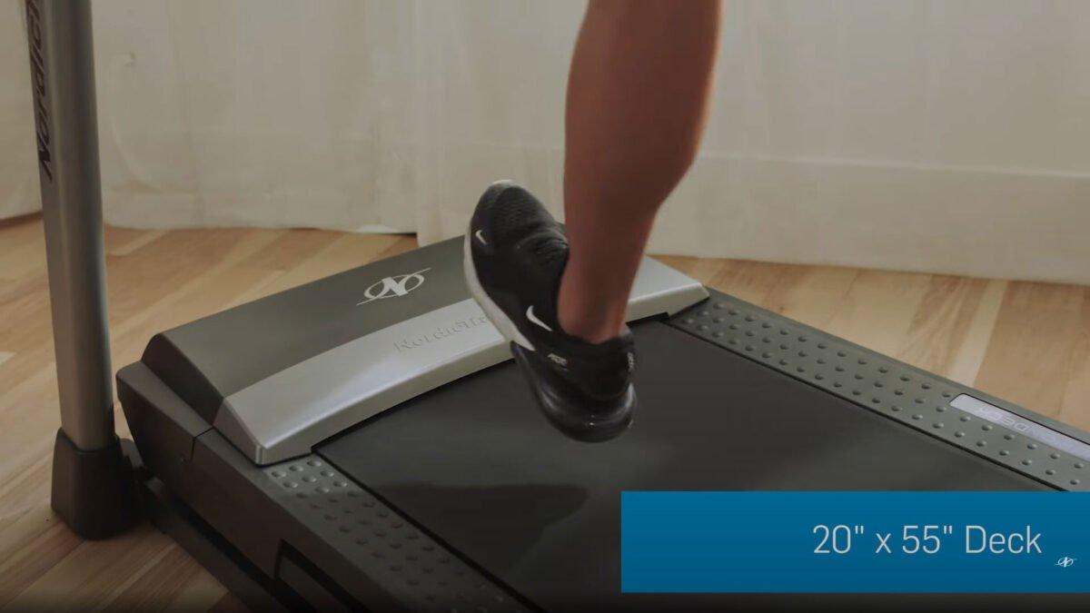 NordicTrack S 45i Treadmill running track