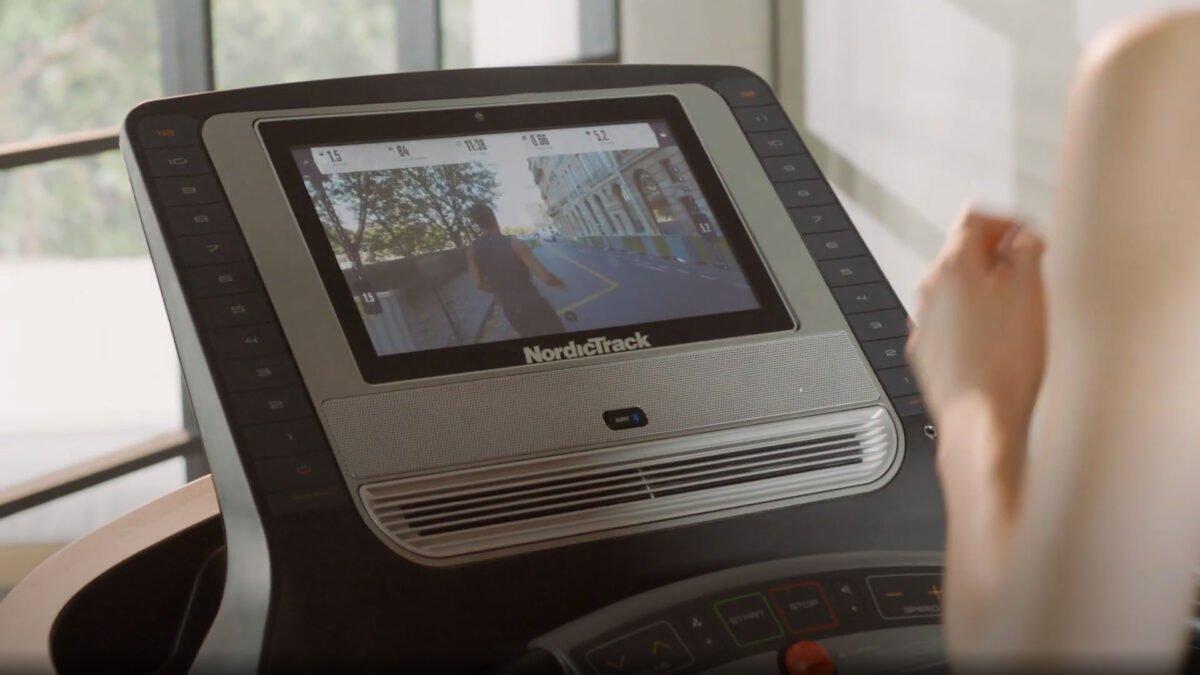 NordicTrack T 9.5s Treadmill LCD Screen