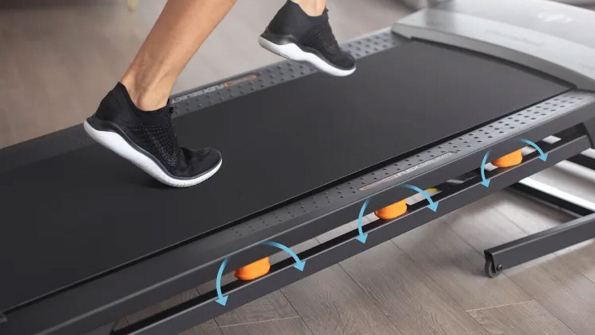 NordicTrack T7.5s Treadmill cushion support for running