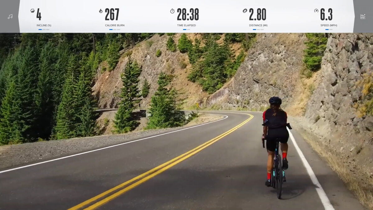 NordicTrack VR19 Bike Programs and features