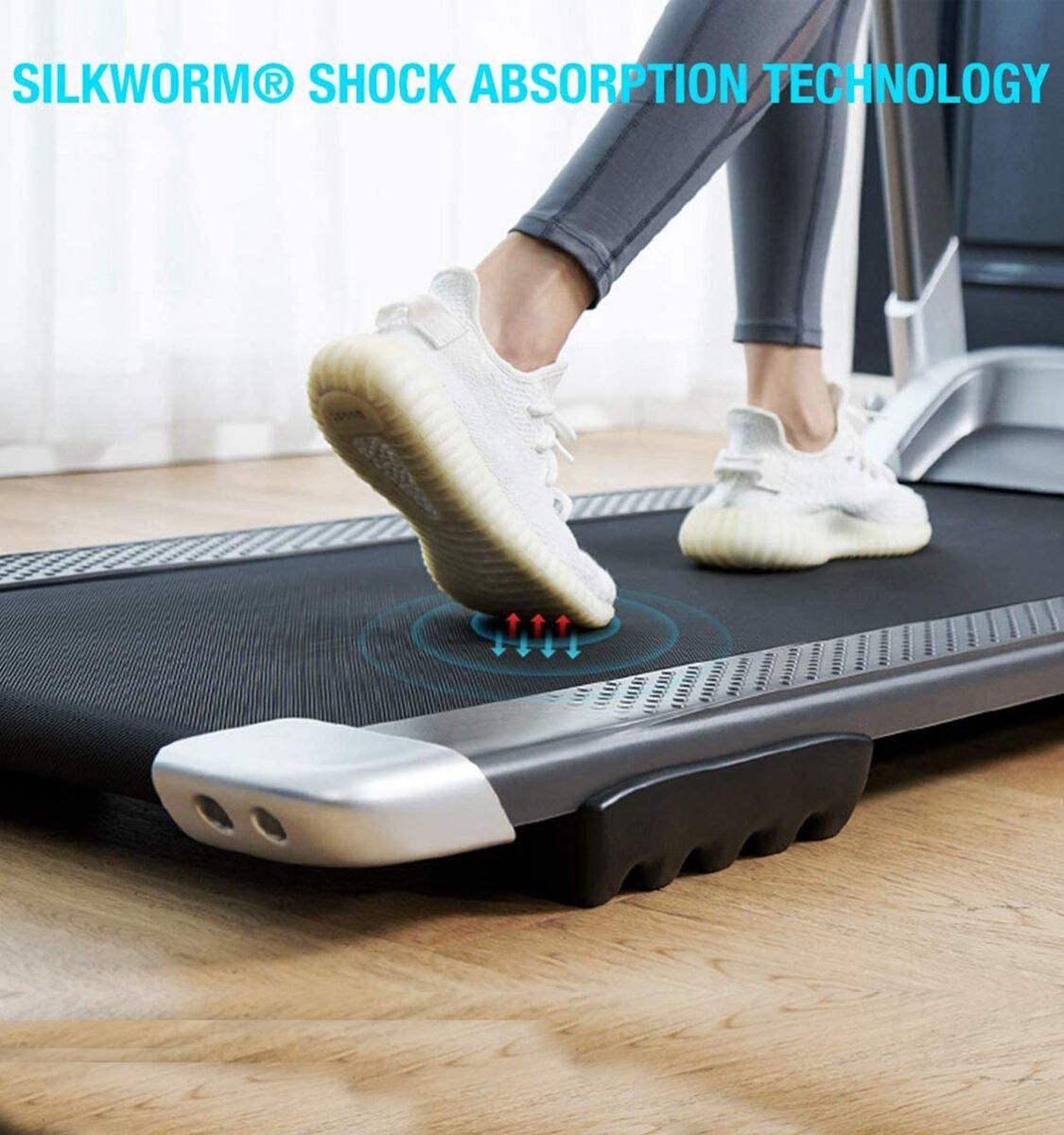 OVICX Q2S Folding Portable Treadmill Cushion System Shock Absorber