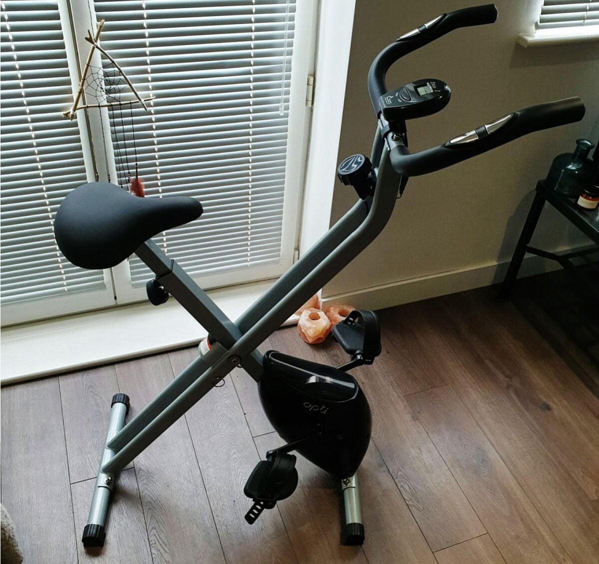Opti Folding Magnetic Exercise Bike comparison