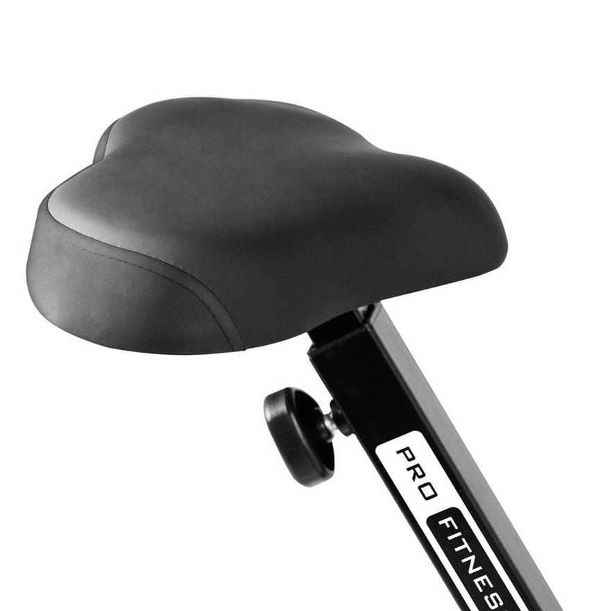 Padded seat for the Pro Fitness FEB1000 Exercise Bike