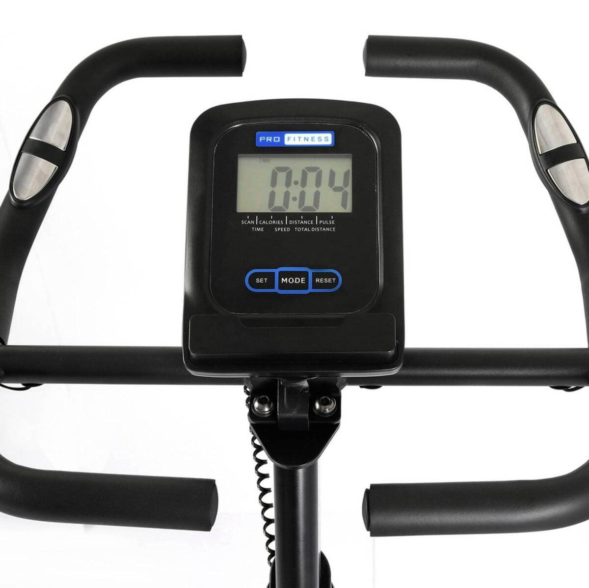 Pro Fitness Aerobic Exercise Bike Handels Heart Sensor