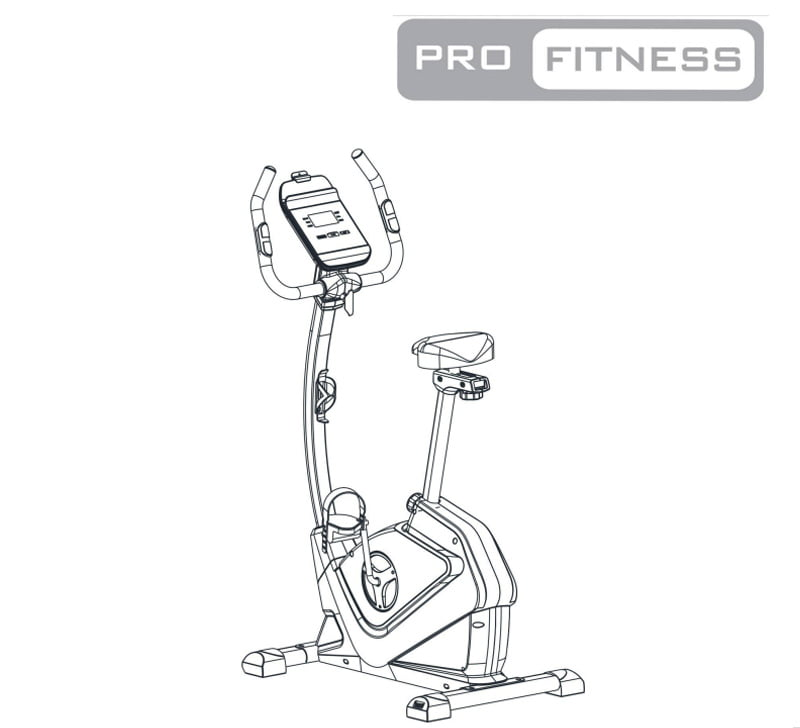 Pro Fitness EB2000 Exercise Bike Manual for help