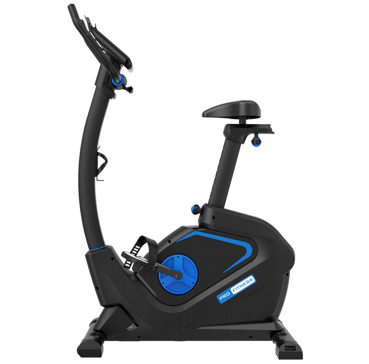 Pro Fitness EB3000 Exercise Bike in Blue and Black Colour