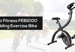 Pro Fitness FEB1000 Folding Exercise Bike Review