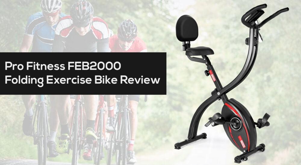 Pro Fitness FEB2000 Folding Exercise Bike Review