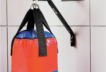 Pro Fitness Punch Bag Wall Bracket installed
