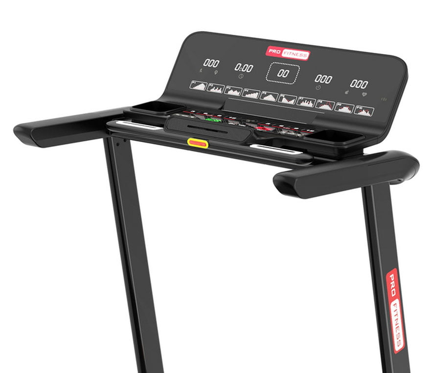 Pro Fitness T2000 Folding Treadmil LCD Buttons