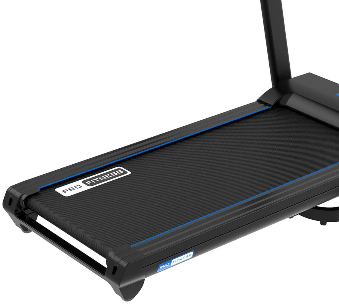 Pro Fitness T3000 running track black