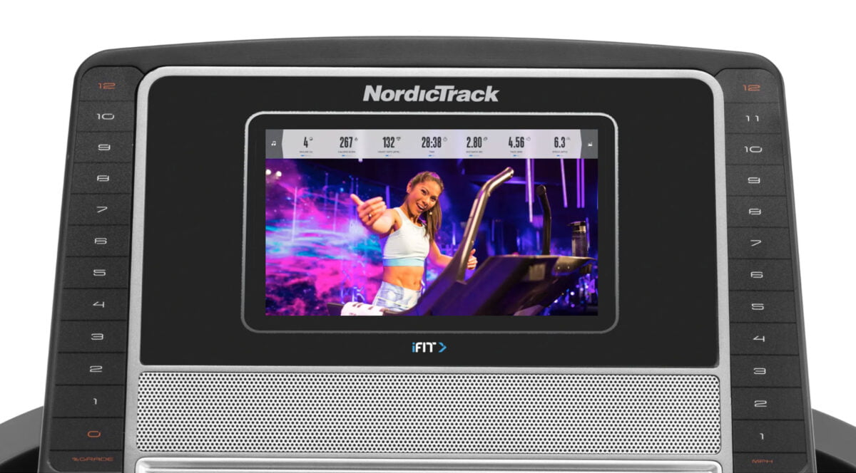 Programs and settings NordicTrack T8.5s
