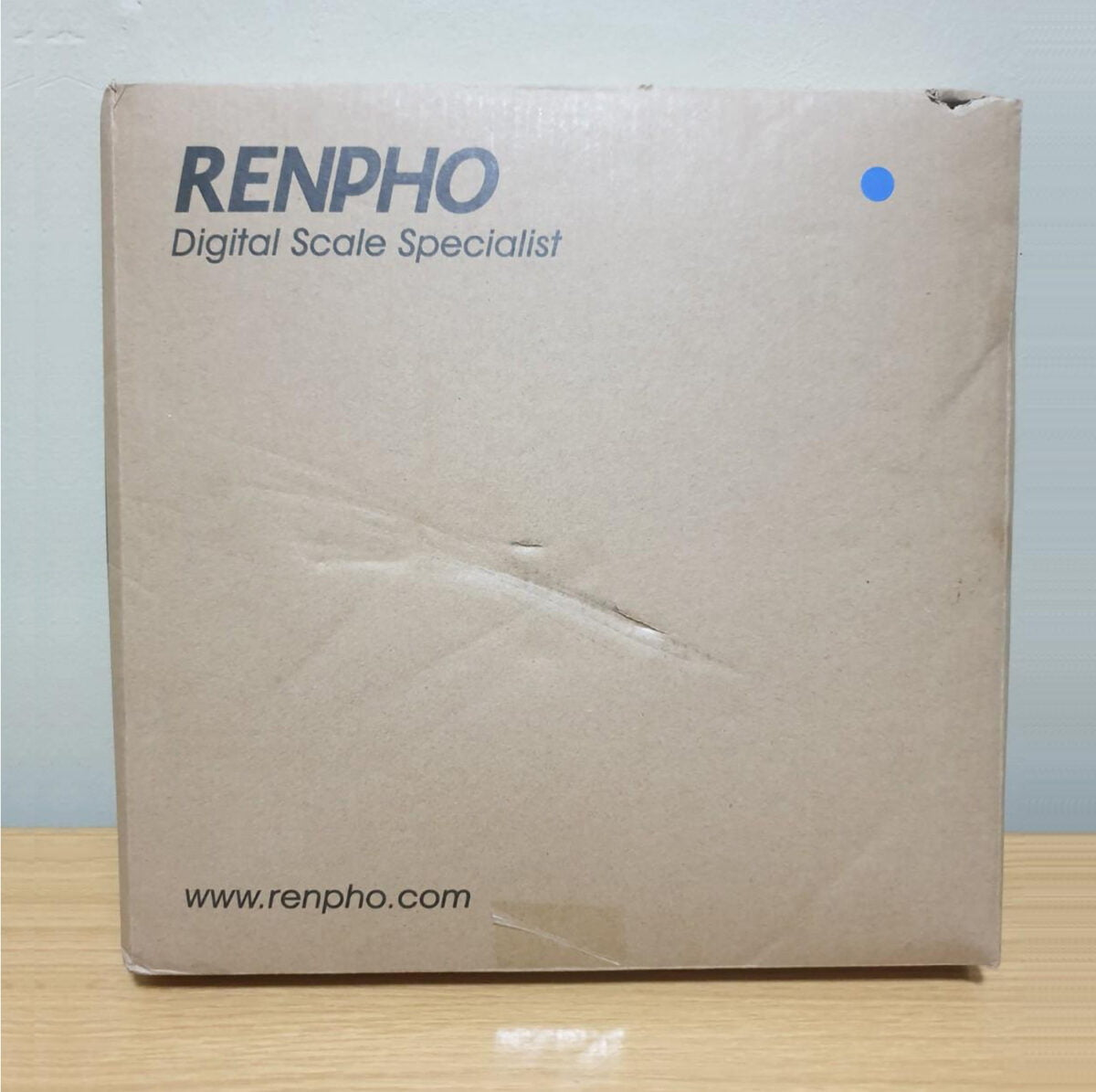 RENPHO Body Fat Scale Review boxed