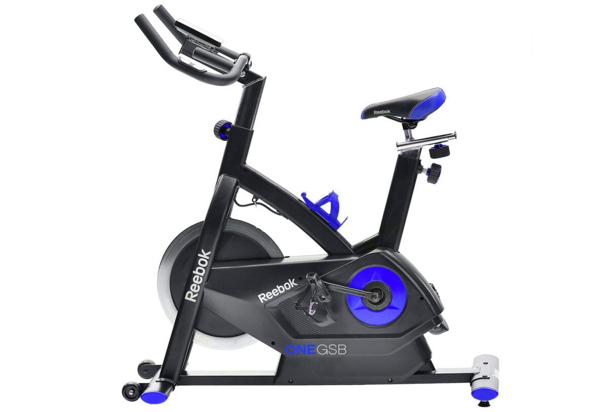Reebok GSB Electronic Aerobic Bike blue and black