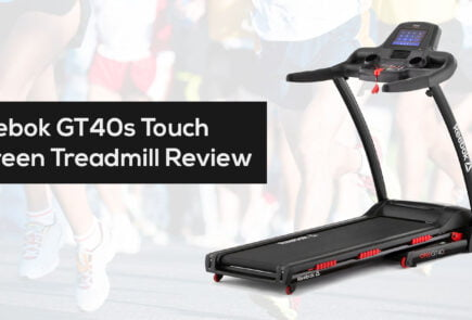 Reebok GT40s Touch Screen Treadmill reviewan cheapest price