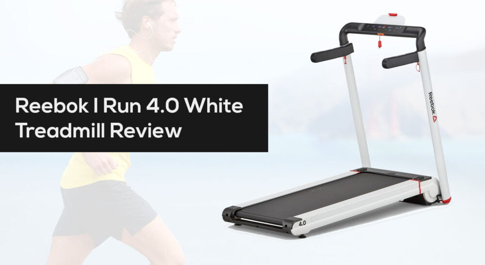 Reebok I Run 4.0 Treadmill in White Review and best uk price