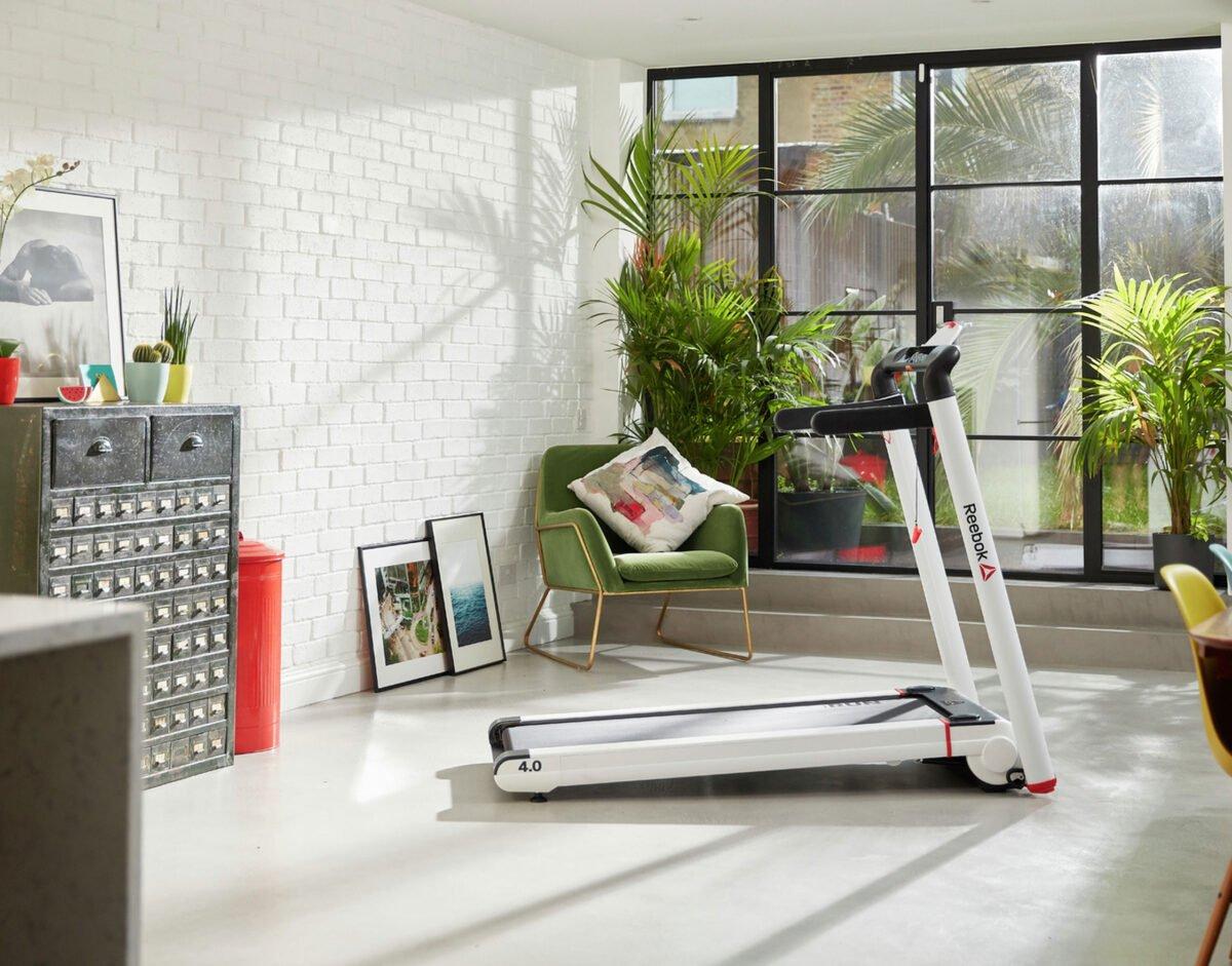Reebok I Run 4.0 Treadmill setup ready for testing