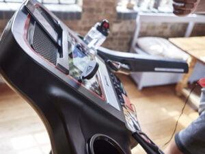 Reebok ZJET 460 workout LCD screen and water bottle