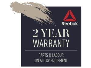 Reebok ZR10 2 year warranty