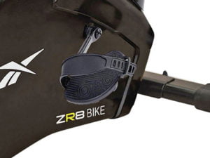 Reebok zr8 exercise bike self levelling pedals