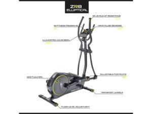 Reebok zr8 main features