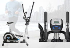 Roger Black 2 in 1 Exercise Bike and Cross Trainer Review and Best UK price