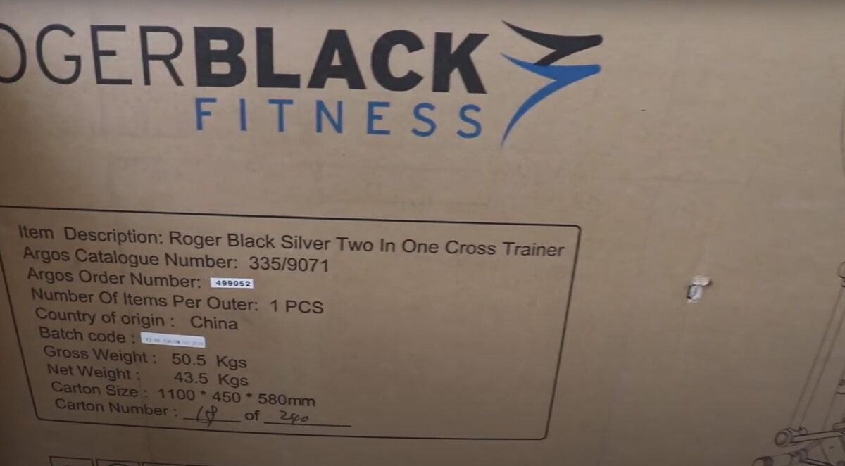 Roger Black2 in 1 unboxing