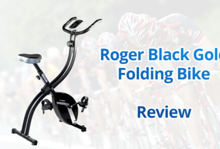 Roger Black Gold Folding MagneticExercise Bike Review Cheapest Price