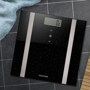 Salter Black Glitter Analyser Bathroom Scale Review and Cheapest Price