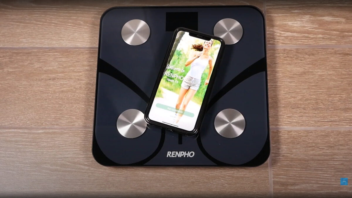 Setting up the RENPHO Body Fat Scale