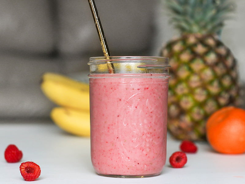 Fruit and veg smoothie healthy eating