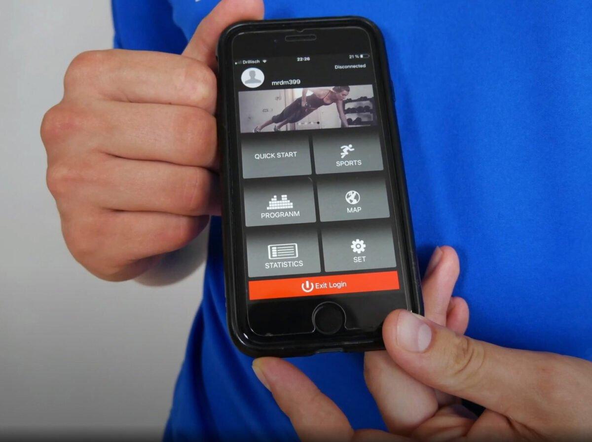 Sportstech F10 Treadmill App Included when you buy