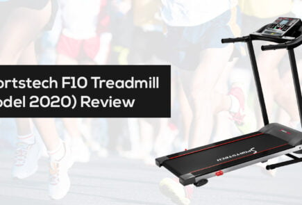 Sportstech F10 Treadmill Model 2020 review and cheapest price