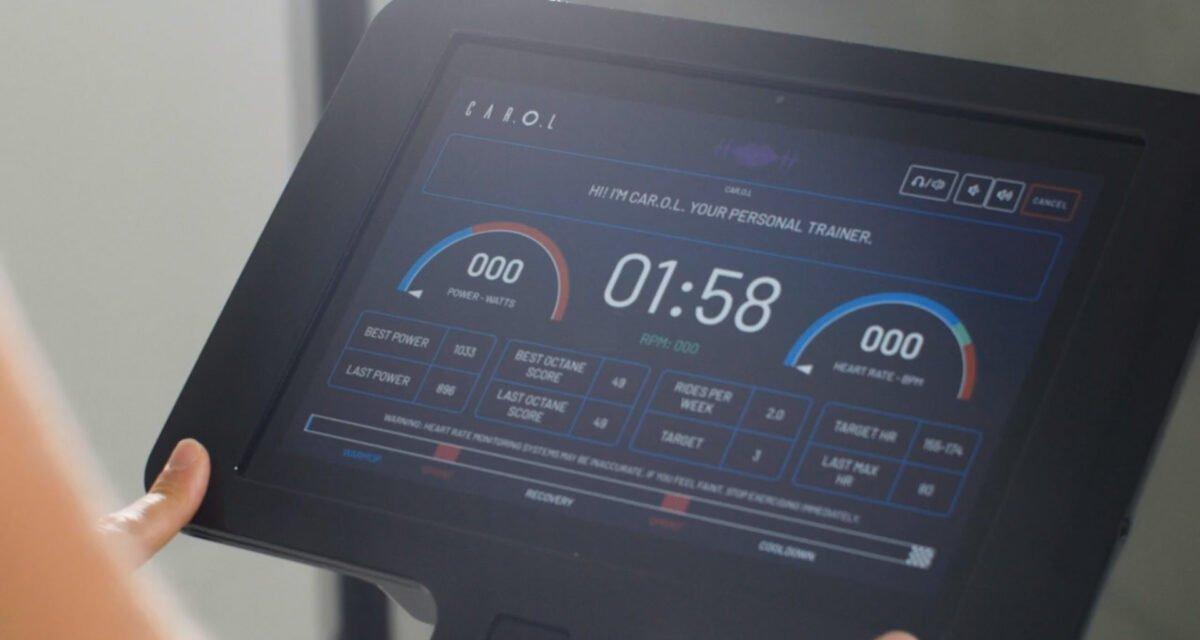 Touch Screen CAROL bike LCD Display